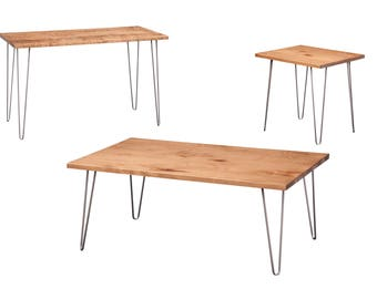 Set of Hairpin Occasional Tables
