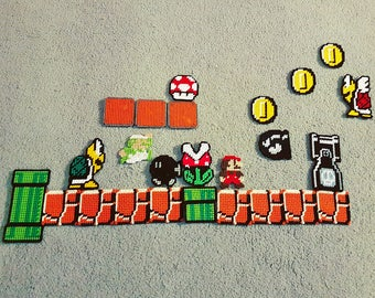 Super Mario Magnet large set