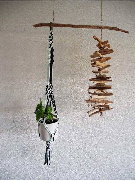 suspension for macrame plant. Black Bedroom Furniture Sets. Home Design Ideas