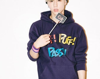 Got7 Mark Purple Hoodie from Mart Tuan Hoodie Collection