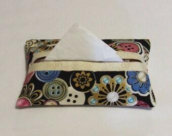 Tissue Holder, Tissue Pouch, Fabric Tissue Holder, Pocket Tissue Holder