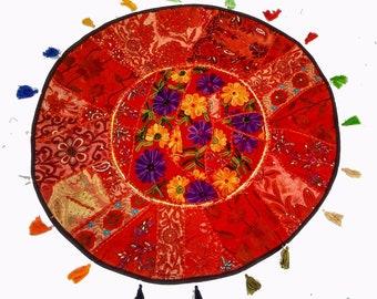 Poufs,pouf,pouffe,Floor Cushion Cover,decorative Patchwork Gypsy Roundies,Moroccan pouf,pouf ottoman,floor pouf,floor cushion,patchwork pouf