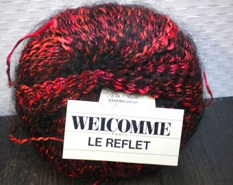 Effect yarn mohair welcome ' le reflet '