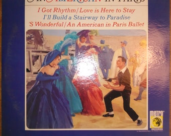 Various Artists - An American in Paris The Original MGM Soundtrack Album M-552 Vinyl Record LP
