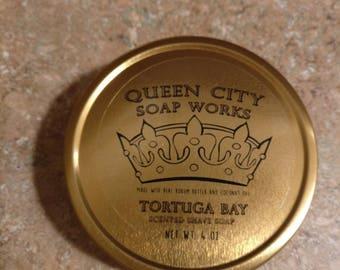 Tortuga Bay (Classic Bay Rum) Premium Shave Soap