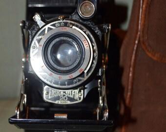 c. SALE - Houghton Ensign Selfix 20. Houghton ensign selfix camera. butcher ensign 20 camera,  1930s