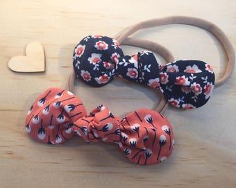 Baby Bows - set of 2 - Autumn Shades
