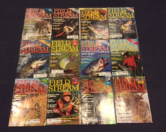 Vintage 1991 Field and Stream Magazines