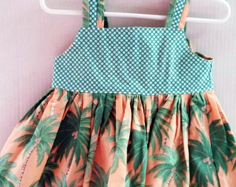 Toddler Tropical Sundress