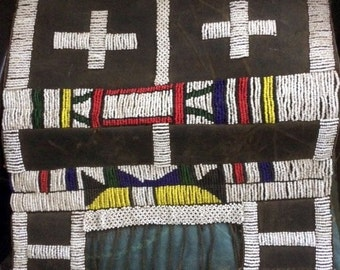 Beaded Ndebele (Mndebele tribe) aprons