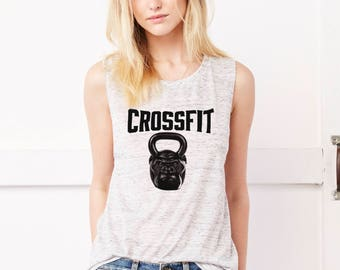 CROSSFIT Flowy Scoop Muscle Tank