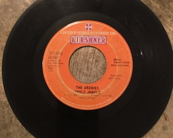 The Archies 45rpm vintage vinyl record