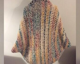 Oversized Shrug, Crochet Shrug, Shrug, Oversized Crochet Shrug