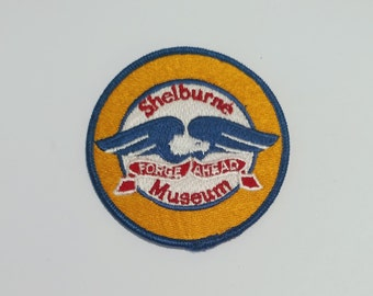 Shelburne Museum - Vintage Patch for Jackets, Backpacks, Jeans/Clothing, Costumes, Crafts