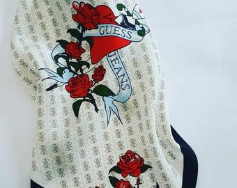 Guess Jeans vintage handkerchief