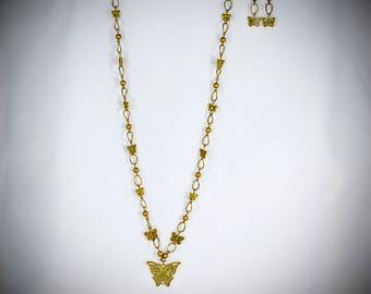 Gold Butterflies - GL12