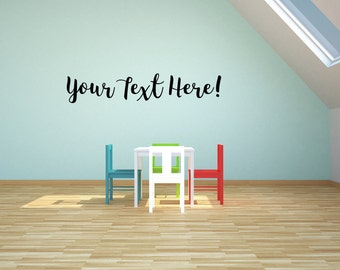 Create your own wall decal!