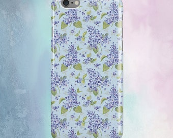 Floral case Lilac iPhone 6 Case for Samsung Galaxy S4 Case iPhone 6s Case iPhone 5 Case iPhone 4s iPhone 6 Case iPhone 6s for Galaxy case S5