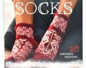 Womens Sock Patterns - Sock Knitting Book - Knitting Patterns - Mens Sock Patterns - Knitting Supplies - Sock Knitting - Used Book