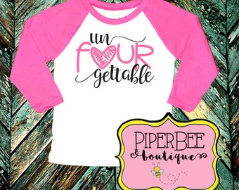 Four Year Old Birthday, Raglan Shirt, Fourth Birthday Girl Shirt, 4 Year Birthday Shirt, 4th Birthday Shirt, Birthday Girl Outfit