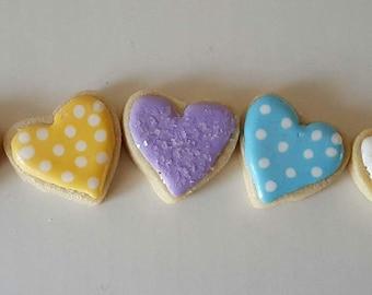 16 Dots & Sparkly Mini Hearts