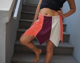 Strawberry Goddess Pixie Tshirt Skirt