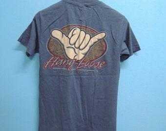 Vintage Hang Loose Hawaii Surf Shirt Size S