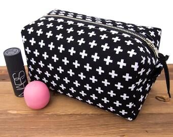 Black Makeup Bag Black - Travel Gifts for Women - Travel Makeup Bag - Black Makeup Storage Box - Makeup Storage Bag - Makeup Brush Bag #19