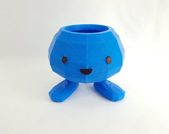 3D Printed Anime Character Flower Pots by 3D Cauldron