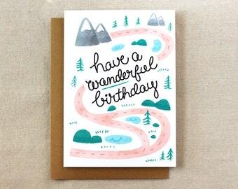 Have a Wanderful Birthday | Birthday Card