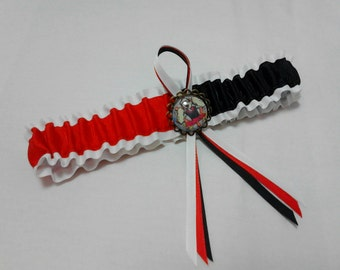 Popeye the sailor bridal  wedding Garter