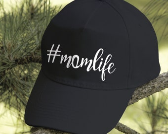Mom Life Hat #MOMLIFE Hat Mom Life Cap Mom Life Baseball Cap Maternity Gift Baby Shower Gift Pregnancy Git Hats for Mom Women Hat PA2030