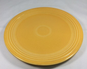 "Genuine Fiesta Yellow 7"" Cake or Salad Plate"