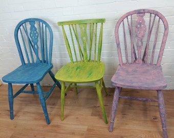 Vintage Mismatching Chairs
