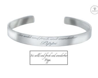 925 sterling silver signature engraving Bangle