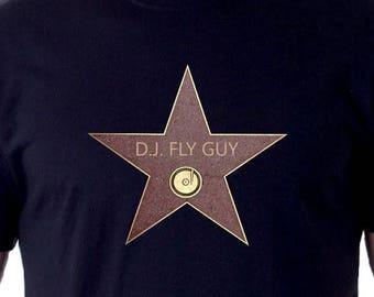 Custom Hollywood Walk of Fame Shirt