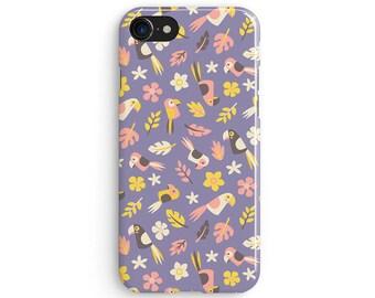 Kids tucan - iPhone 7 case, Samsung Galaxy S7 case, iPhone 6, iPhone 7 plus, iPhone SE, iPhone 5S, 1C077B