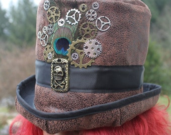"top hat pirate and steampunk ""2"""