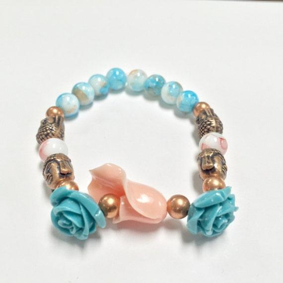 Navifoce Lily Rose Buddha Bracelet