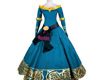 Brave Cosplay Merida Princess Dress Cosplay Costumes