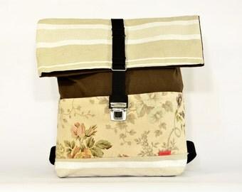 SAND backpack large / Upcycling bagpack