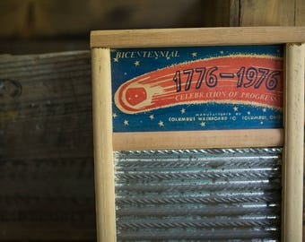 Bicentennial Dubl Handi Washboard