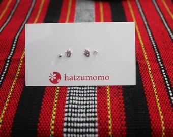 Namaste Stud Earring Set Sterling Silver 925
