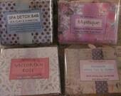 Beautiful Artisan Handmade Soap  large bars  Made in Arizona  Natural bar soap  vegan soap  Coconut oil soap