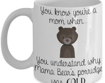 Funny Mom Mug - You Know You're A Mom When...  - Mom Gift