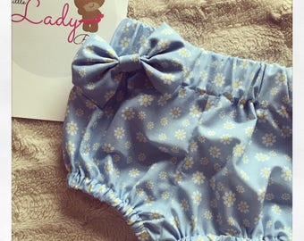 Daisy blue bloomer set