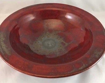 Deep Red HEAVY Bowl
