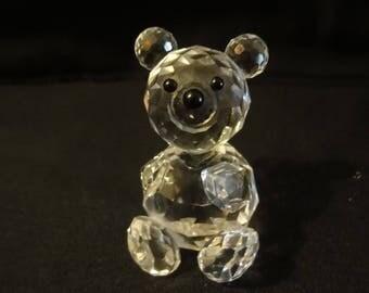 "Swarovski crystal ""TEDDY BEAR""     height=6cm"