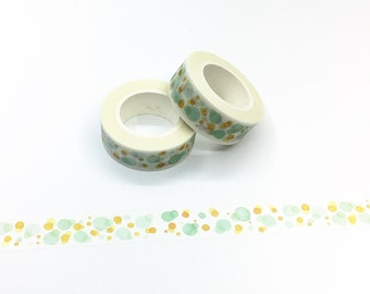 Watercolor Bubbles Washi Tape - Watercolor Series
