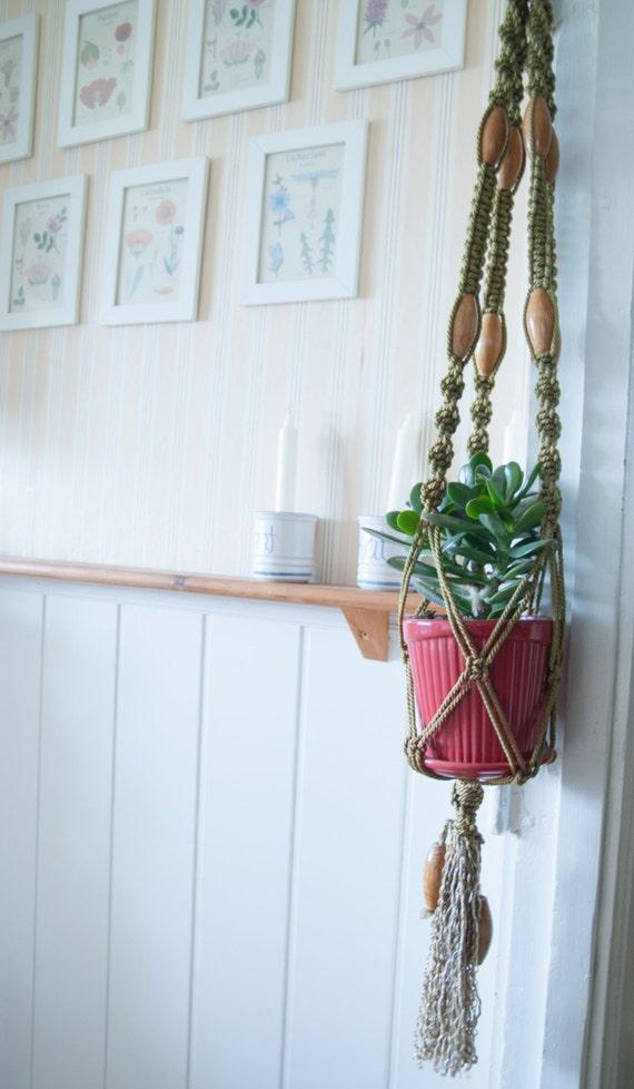 macrame plant hanger flower pot holder hanging planter